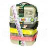Vzorovaný batožinový popruh