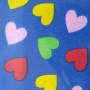 Srdiečka (farebné - modré)