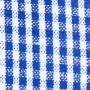 Modré kockované
