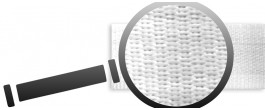 Rebrovaný satén (15mm)