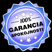 100% Garancia spokojnosti!